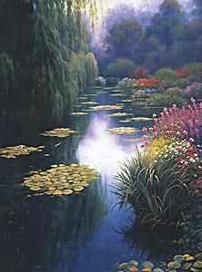 52403 View From Monet`s Bridge - Наборы для вышивания крестом «Candamar»