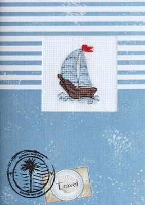 (S)F-07 Набор для изготовления открытки (Luca-S)
