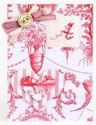 (S)P-08 Набор для изготовления открытки (Luca-S)