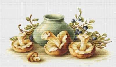 B2247 Натюрморт с грибами