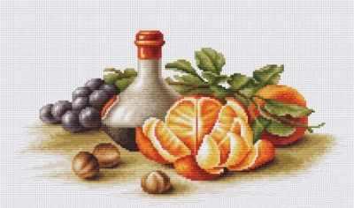 B2250 Натюрморт с апельсинами