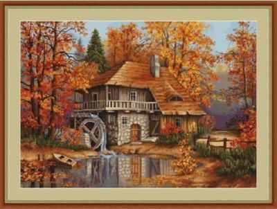 G481 Осенний пейзаж