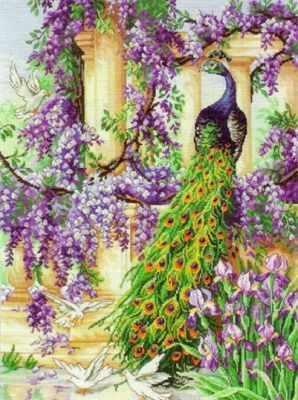 5678-1027 Павлин MAIA - Наборы для вышивания «MAIA»