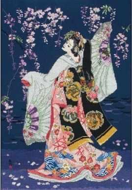 5678-1186 Танец цапли MAIA - Наборы для вышивания «MAIA»