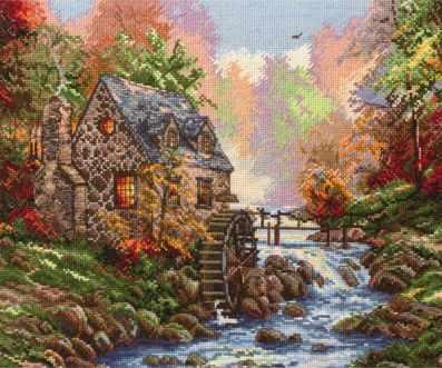 5678-1216 Кобблстоунская мельница MAIA - Наборы для вышивания «MAIA»