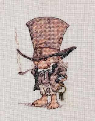 МН-02  Джентльмен в шляпе  (Neocraft) - Наборы для вышивания крестом «Neocraft»