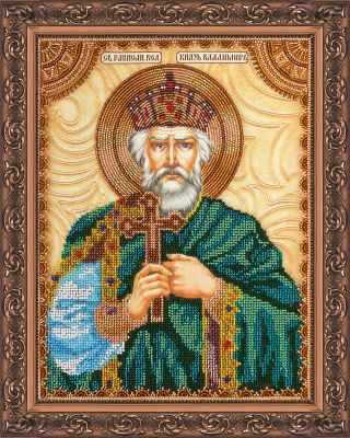 АА-016 Набор для вышивания бисером икона Св. Владимир