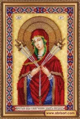 АВ-296 Икона Богородицы Семистрельная