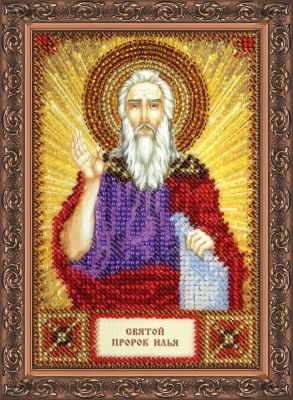ААМ-041 Набор для вышивания бисером икона Св. Илья