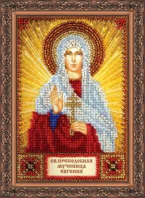 ААМ-042 Набор для вышивания бисером икона Св. Евгения