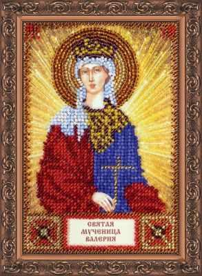 ААМ-043 Набор для вышивания бисером икона Св. Валерия