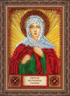 ААМ-052 Набор для вышивания бисером икона Св. Галина