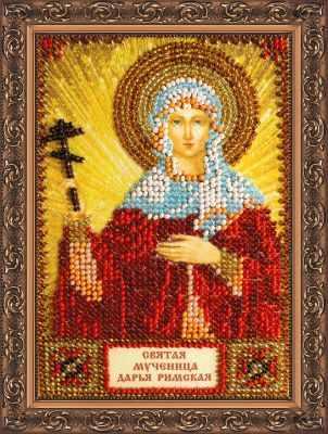 Набор для вышивания иконы Абрис Арт ААМ-020 Набор для вышивания бисером икона Св. Дарья набор для вышивания бисером созвездие япония 20 х 27 см
