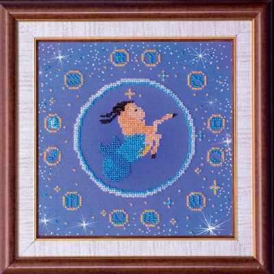 Фото - Набор для вышивания Абрис Арт АВ-007-11 Козерог набор для вышивания абрис арт ав 687 чеширский кот