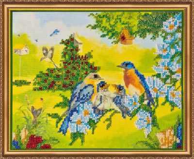 Фото - Набор для вышивания Абрис Арт АВ-031 Весна набор для вышивания абрис арт ав 687 чеширский кот