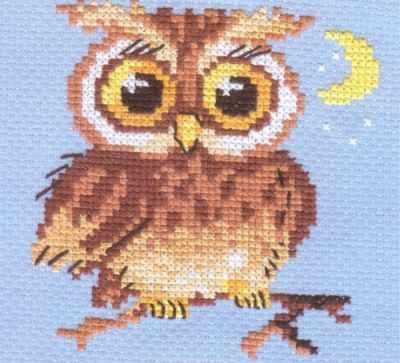Набор для вышивания Алиса 0-056 Совенок