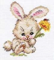 Набор для вышивания Алиса 0-058 Зайка