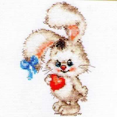 Набор для вышивания Алиса 0-078 Моей зайке