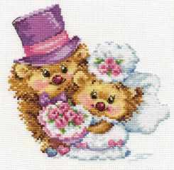 Набор для вышивания Алиса 0-088 Навсегда!