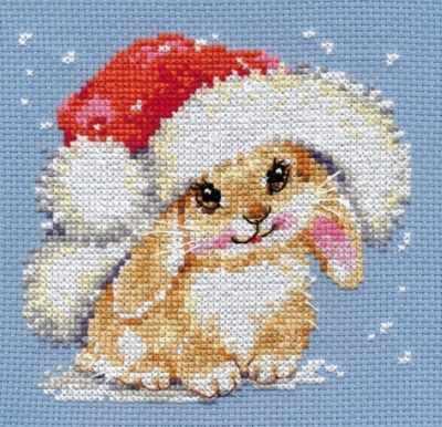 0-095 Зимний зайчишка
