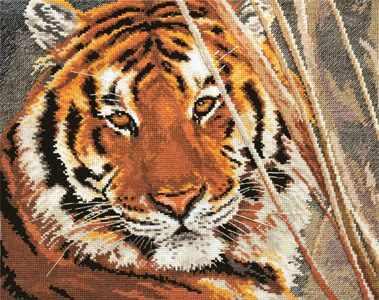Набор для вышивания Алиса 1-08 Тигр