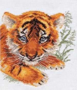 1-10 Тигренок - Наборы для вышивания «Алиса»