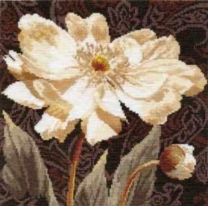 Набор для вышивания Алиса 2-18 Белые цветы: В объятиях света