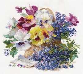 2-24 Послание любимой - Наборы для вышивания «Алиса»