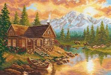 Набор для вышивания Алиса 3-04 Вечер в горах
