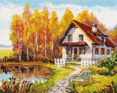 Набор для вышивания Алиса 3-14 В гости к осени
