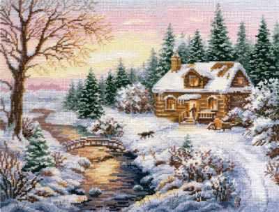 3-15 Зима.К вечеру