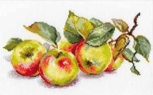5-09 Яблоки - Наборы для вышивания «Алиса»