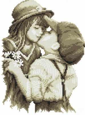 1665-14 Первая любовь (Белоснежка) - Наборы для вышивания «Белоснежка»