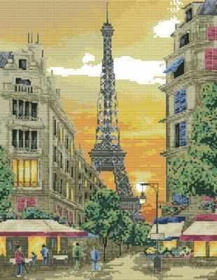 Набор для вышивания Белоснежка 4055-14 Париж