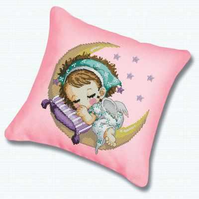 Подушка 350 Нежный сон (Белоснежка) - Наборы для вышивания «Белоснежка»