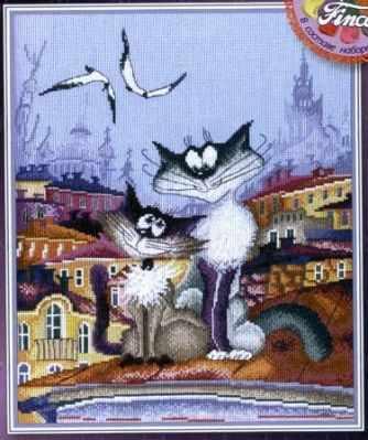 Набор для вышивания Марья искусница 07.005.03 Кошачьи нежности набор для вышивания марья искусница 15 001 15 рыбалка