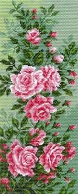 Основа для вышивания с нанесённым рисунком Матрёнин Посад 1053 Плетистая роза (МП)