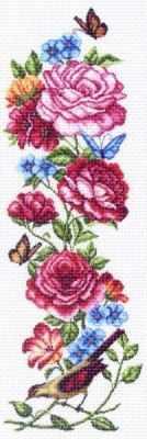 1366 Куплеты лета 2 (МП) - Рисунок на ткани «Матрёнин посад» (канва с рисунком)