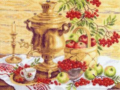 Основа для вышивания с нанесённым рисунком Матрёнин Посад 817 Русский колорит - рисунок на канве (МП) основа для вышивания с нанесённым рисунком матрёнин посад 950 восточные тайны мп