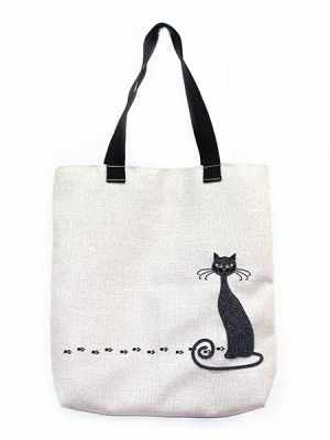 8508 Черная кошка - набор для частичного шитья (МП)