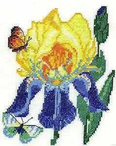 01.032.03 Ирисы (Машенька) - Наборы для вышивания «Машенька»