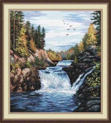 Набор для вышивания Овен 560 Водопад