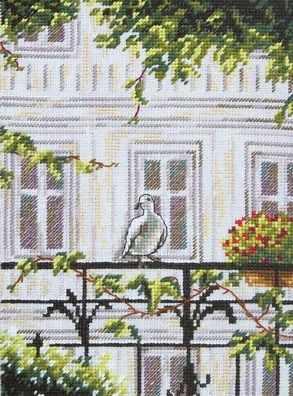 Набор для вышивания РТО C161 Гость на балконе