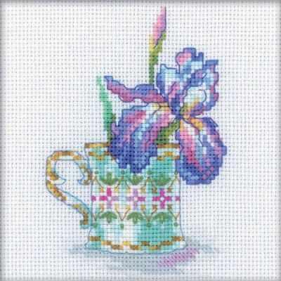 Набор для вышивания РТО EH307 Чашка и ирис