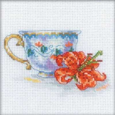 EH308 Чашка и лилия