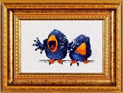 Купить со скидкой 1017 Про птичек-1 (Alisena)