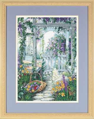 13692 DMS Ворота в сад