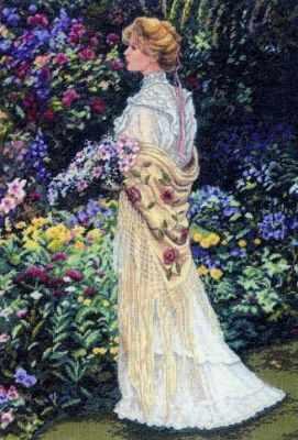 Набор для вышивания Dimensions 35119-DMS В ее саду