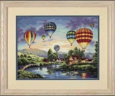 Набор для вышивания Dimensions 35213-DMS Воздушные шары
