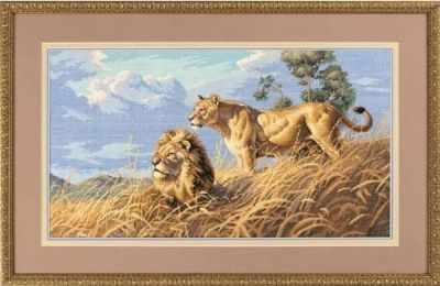3866 DMS Африканские львы